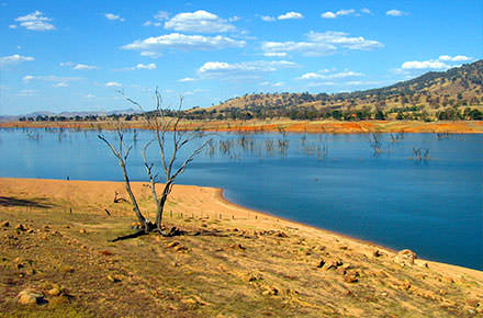Lake Hume on the Upper Murray